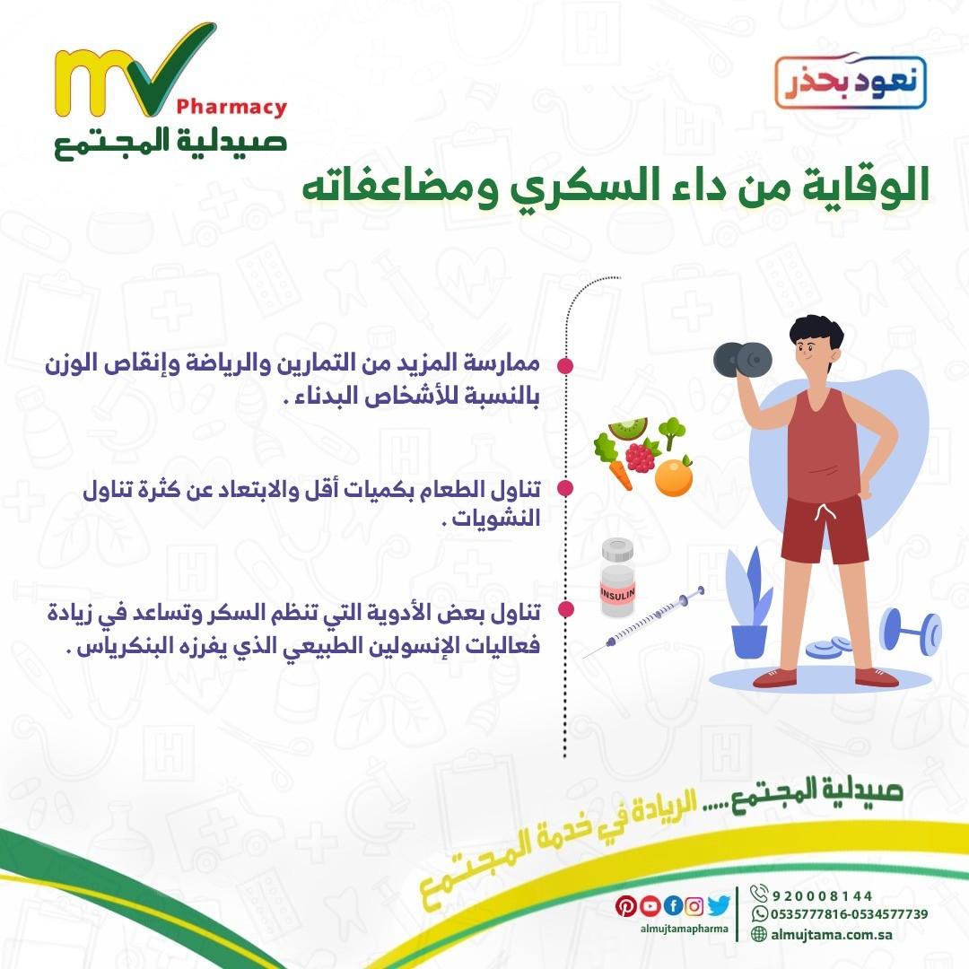 الوقاية من داء السكري و مضاعفاته
