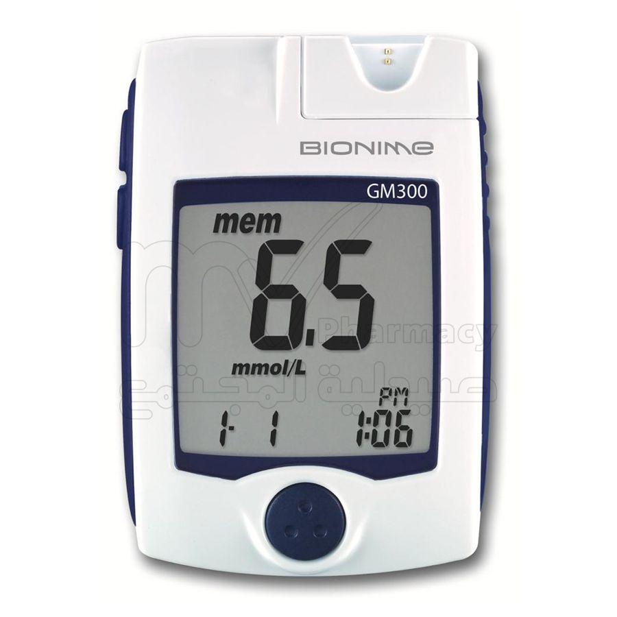 بيونيم جهاز قياس السكر في الدم GM300