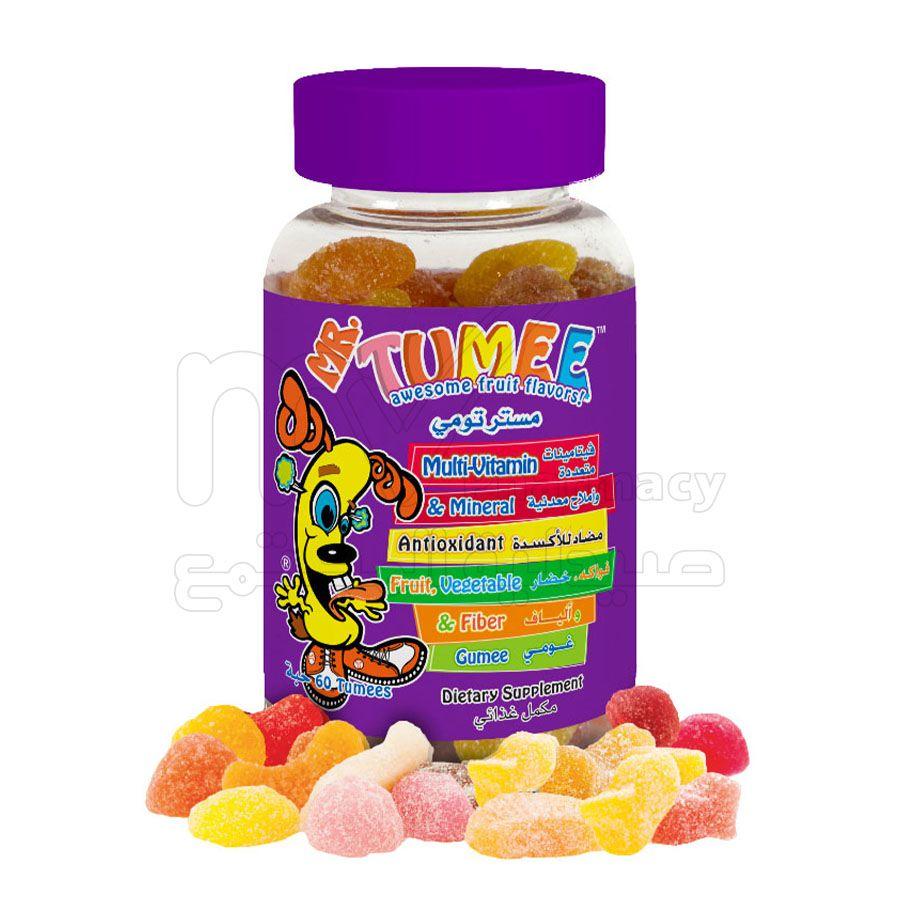 مستر تومي متعدد الفيتامينات والمعادن ، أقراص مضغ ، 60 حبة