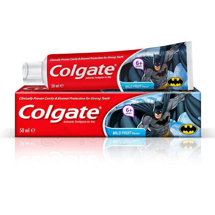 كولجيت معجون اطفال باتمان 50مل