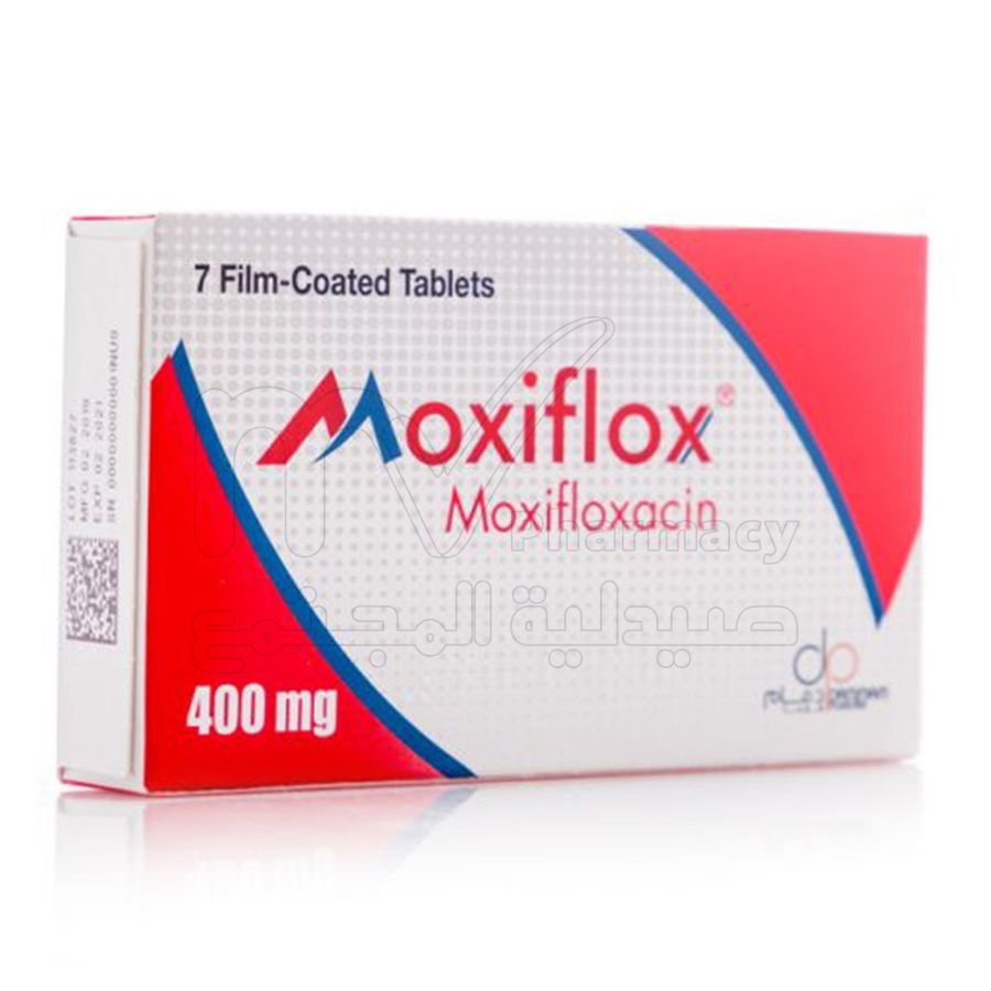 موكسيفلوكس-400-مجم-7-اقراص