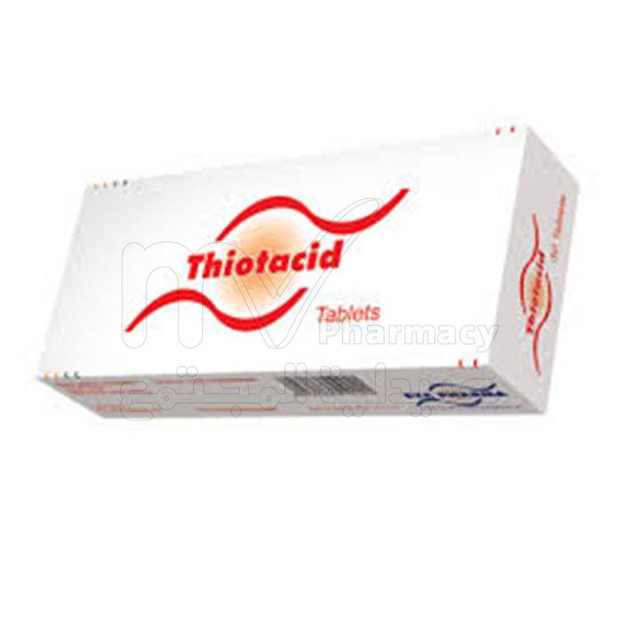 ثيوتاسيد 300 مجم 60 أقراص