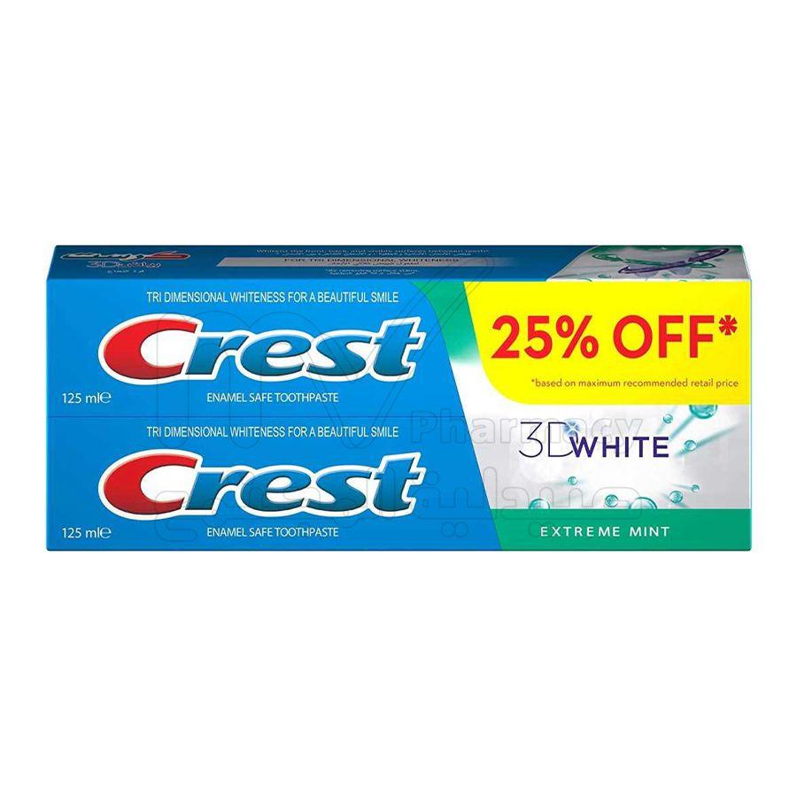 كريست 3d أبيض نعناع شديد